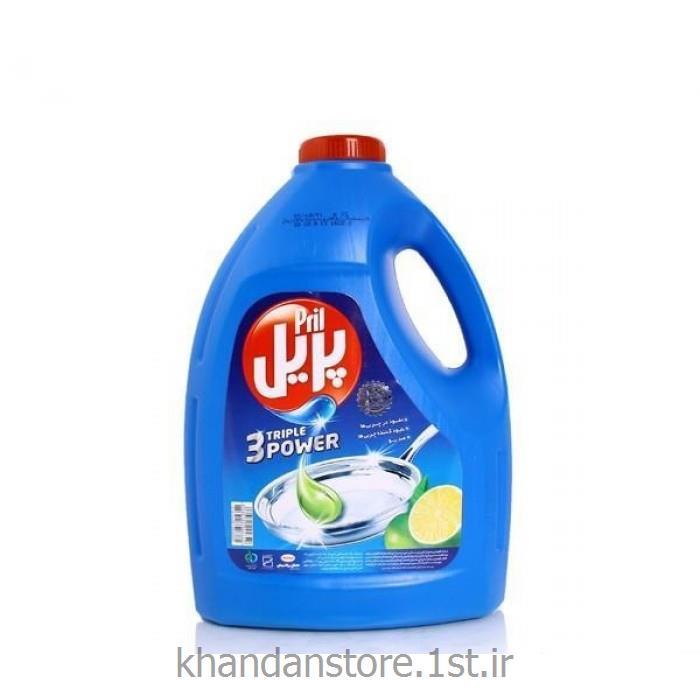 عکس شوینده و پاک کننده هامایع ظرفشویی 4 لیتری پریل
