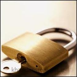 قفل آویز