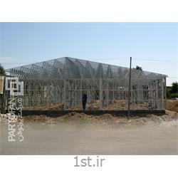احداث دبیرستان حجاب زرقان شیراز به روش پیش ساخته LSF