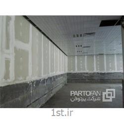 پارتیشن های داخلی مجموعه فرهنگی - ورزشی شهدا با سازه LSF