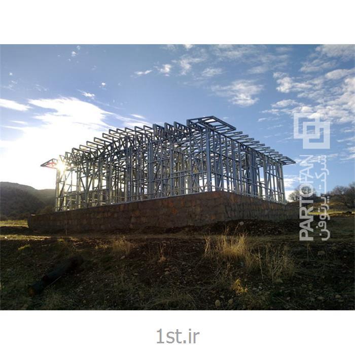 عکس خانه های پیش ساختهخانه های بهداشت روستایی استان کهگیلویه و بویر احمد به روش LSF