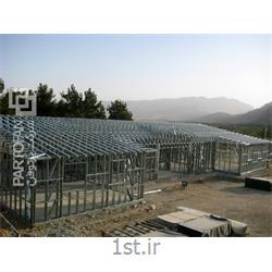 احداث دبیرستان بعثت ارژن شیراز به روش پیش ساخته LSF