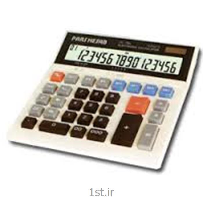 عکس ماشین حسابماشین حساب ایرانی پارس حساب مدل DS-206L
