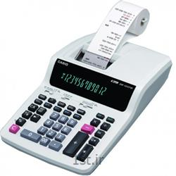 عکس ماشین حسابماشین حساب چاپگر رومیزی کاسیو مدل DR-120TM-WE