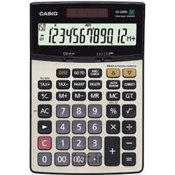 ماشین حساب رومیزی کاسیو مدل CASIO DJ-220D