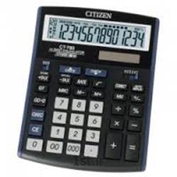 عکس ماشین حسابماشین حساب رومیزی سیتیزن مدل CITIZEN CT-666N
