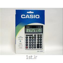 عکس ماشین حسابماشین حساب رومیزی کاسیو مدل GX-120S