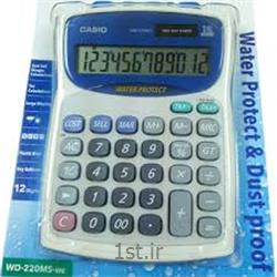 عکس ماشین حسابماشین حساب رومیزی کاسیو مدل CASIO WD-220MS-WE