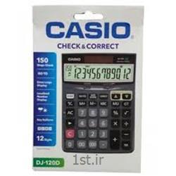 عکس ماشین حسابماشین حساب رومیزی کاسیو مدل CASIO DJ-120D