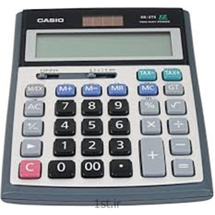 عکس ماشین حسابماشین حساب رومیزی کاسیو مدل CASIO DS-2TS