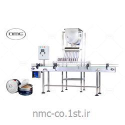 عکس قطعات ماشین آلات تولید مواد غذاییدستگاه فیلر یا محلول ریز در قوطی و شیشه (سس ریز) مدل KPT 4070