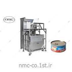 عکس سایر ماشین آلات تولید مواد غذاییدستگاه پرکن اتوماتیک کنسرو تن ماهی