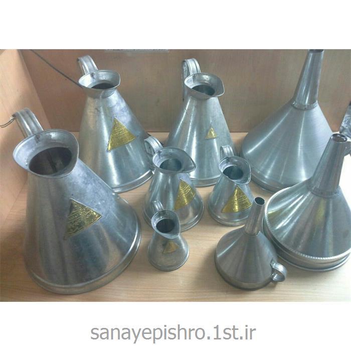 پیمانه روغن فلزی (لیتر شمار روغن 5 لیتری)