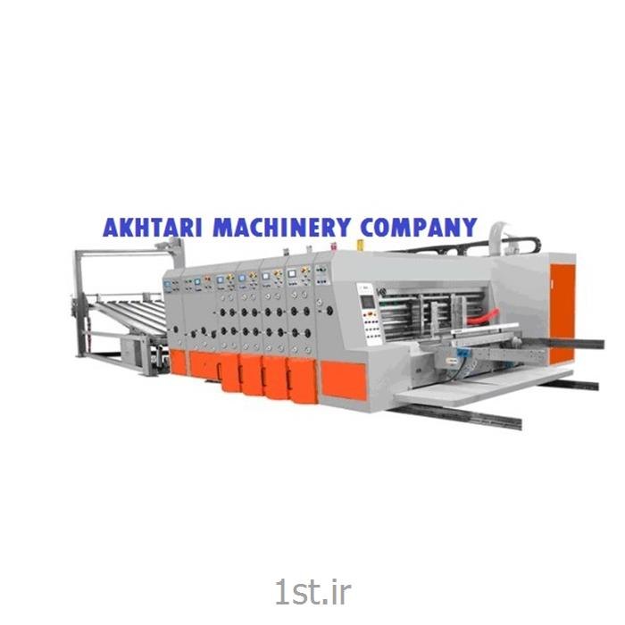 عکس ماشین آلات و دستگاه های چاپدستگاه چاپ فلکسو کارتن از 2 تا 5 رنگ فول اتوماتیک