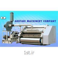 عکس ماشین آلات تولید محصولات کاغذیدستگاه تولید سینگل فیس با فلوت های A,C,B,E,F