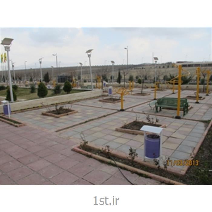 محوطه سازی خوابگاه لاله دانشگاه آزاد اسلامی واحد قزوین