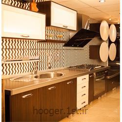 عکس کابینت آشپزخانهکابینت آشپزخانه تمام MDF مدرن