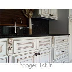عکس کابینت آشپزخانهکابینت آشپزخانه تمام چوب کلاسیک