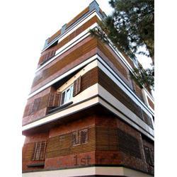 عکس چوب ضد آبنمای چوبی ساختمان با چوب ترمو وود