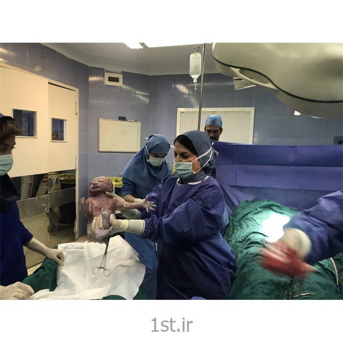 عکس جراحیسزارین.نوزادان در بیمارستان فرمانیه