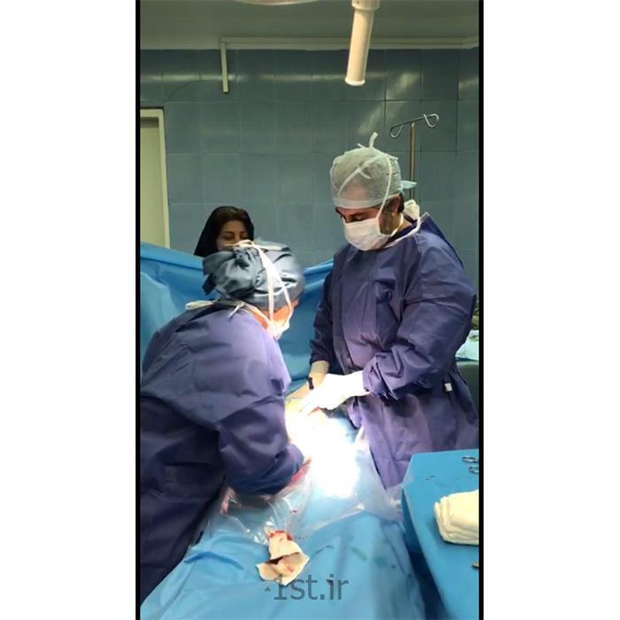عکس جراحیعمل جراحی سزارین (بیمارستان فرمانیه)