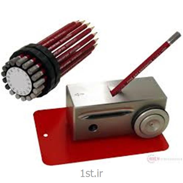 عکس تجهیزات تست کردن ( آزمایش )سختی سنج قلمی رنگ