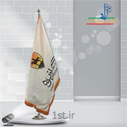 پرچم تشریفات ساتن چاپ دیجیتال ابعاد 150x90