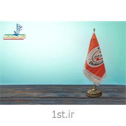 پرچم رومیزی ساتن چاپ دیجیتال ابعاد 30*20