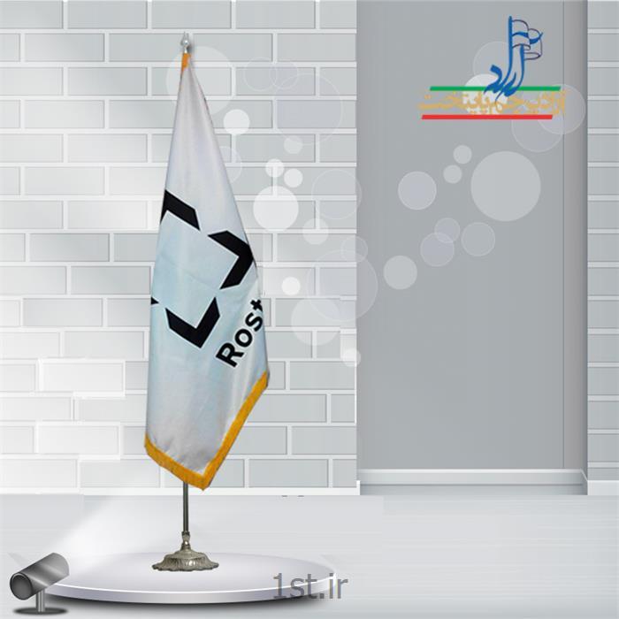 عکس پرچم، بنر و لوازم جانبیپرچم تشریفات ساتن چاپ سیلک ابعاد 150*90