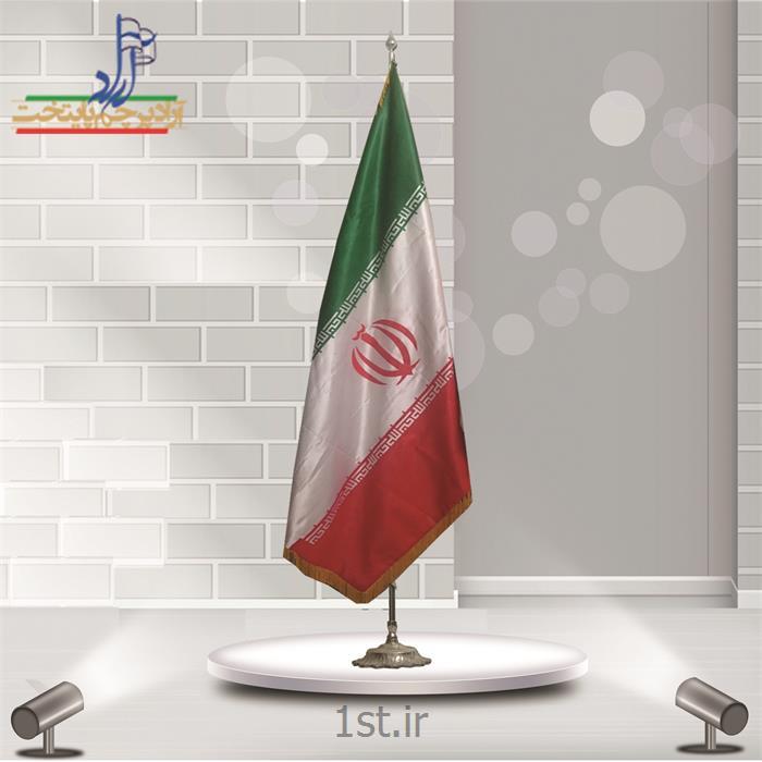 عکس پرچم، بنر و لوازم جانبیپرچم تشریفات ساتن ایران ابعاد 150*90