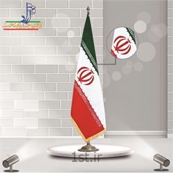 عکس پرچم، بنر و لوازم جانبیپرچم تشریفات جیر ایران ابعاد 150*90