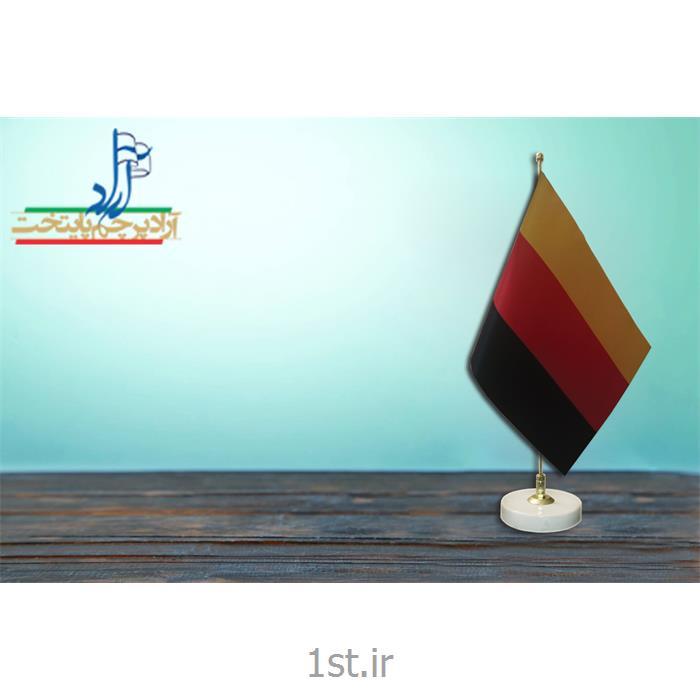 عکس پرچم، بنر و لوازم جانبیپرچم رومیزی با برش لیزر ابعاد 30*20