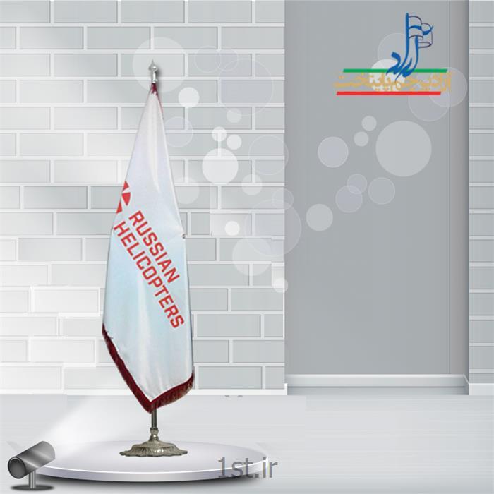 عکس پرچم، بنر و لوازم جانبیپرچم تشریفات ساتن چاپ سیلک ابعاد 150x90