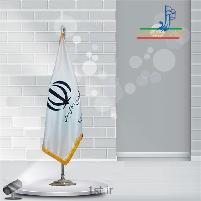 پرچم تشریفات ساتن چاپ سیلک ابعاد 150x90<