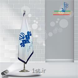 پرچم تشریفات ساتن چاپ سیلک ابعاد 150x90