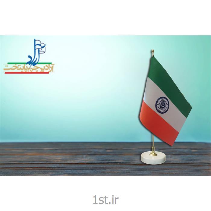 عکس پرچم، بنر و لوازم جانبیپرچم رومیزی  ملل ابعاد 30*20