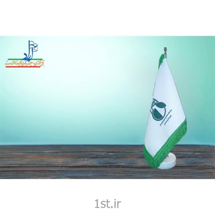 پرچم رومیزی جیر چاپ سیلک ابعاد 30*20