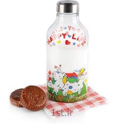 بطری شیر بیضی استیل