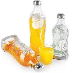 عکس بطری آببطری های پیچک سیب نقره ای