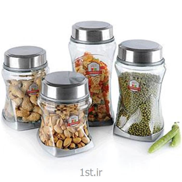 عکس مجموعه ( ست ) لوازم آشپزیبانکه های بانو استیل