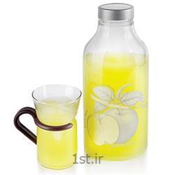 بطری بیضی سیب نقره ای