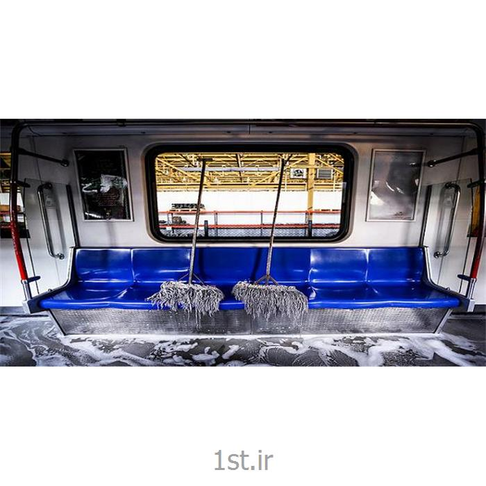 نظافت و شستشوی قطارهای مسافربری