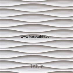 عکس طراحی دکورورق PVC امباس مدل کرکره ای