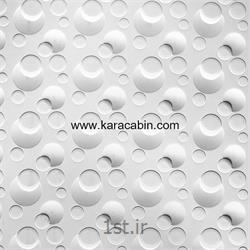 عکس پارتیشن اداریورق PVC طرح دار مدل حبابی