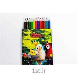 عکس مداد رنگیمداد  رنگی 12 رنگ کیبورد
