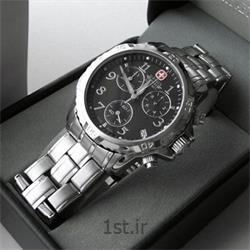 عکس ساعت مچیساعت مچی بند استیل مردانه ونگر (Wenger) مدل ۷۹۱۳۶، ساخت سوئیس