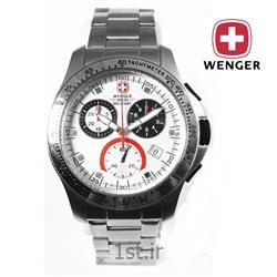ساعت مچی بند استیل مردانه ونگر سوئیس (Wenger) مدل ۷۹۱۱۷