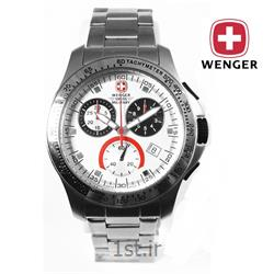 عکس ساعت مچیساعت مچی بند استیل مردانه ونگر سوئیس (Wenger) مدل ۷۹۱۱۷