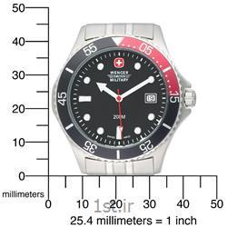 ساعت مچی بند استیل مردانه ونگر (Wenger) مدل ۷۰۹۹۹، ساخت سوئیس
