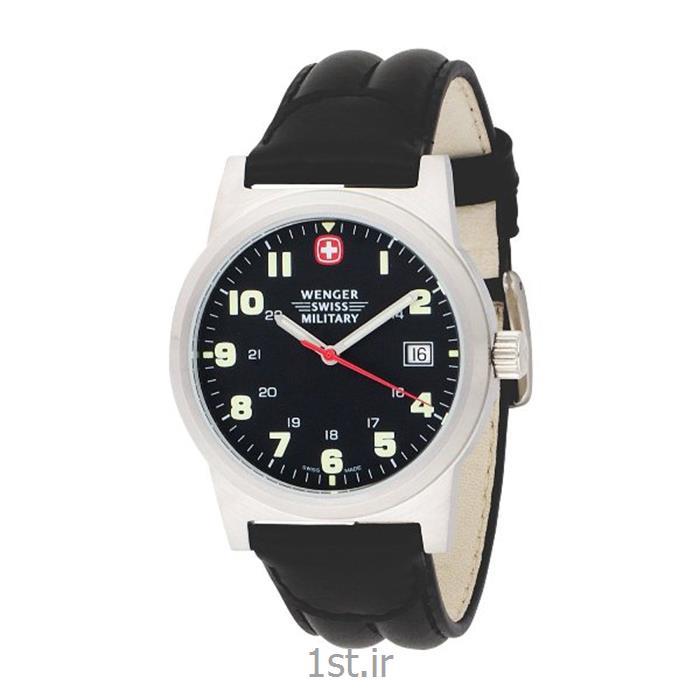 ساعت مچی بند چرم مردانه ونگر (Wenger) مدل ۷۲۹۲۵، ساخت سوئیس